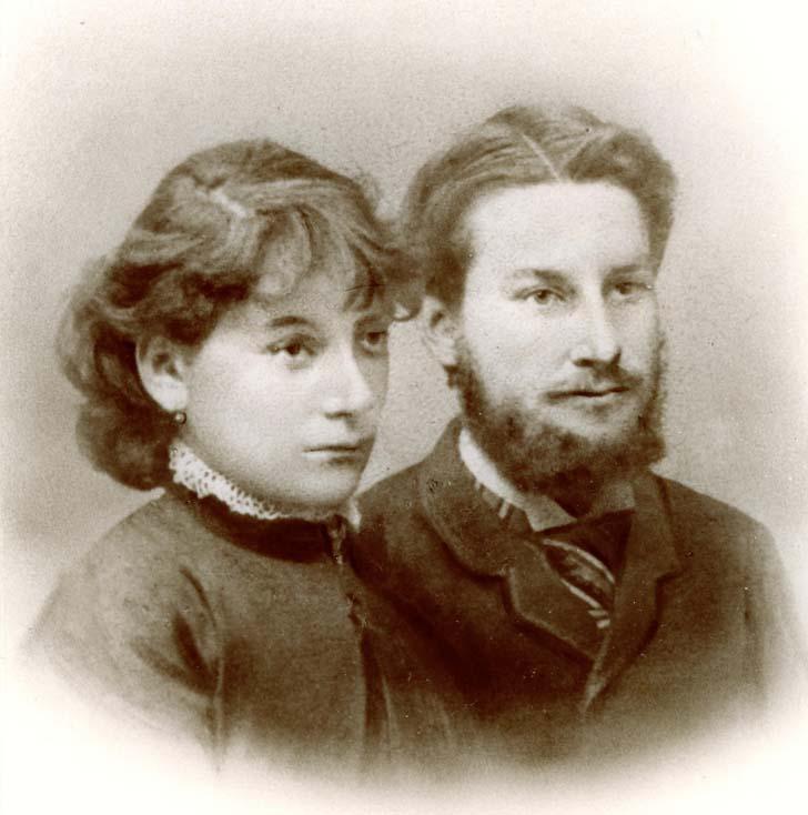 Hermann und Ida Haack, geb. Abesser